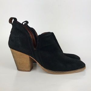 Jeffrey Campbell Rosalee Suede Leather Bootie 9